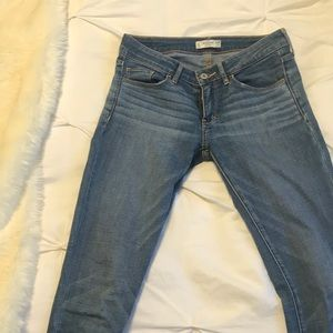 Abercrombie and Fitch light/medium wash jeans